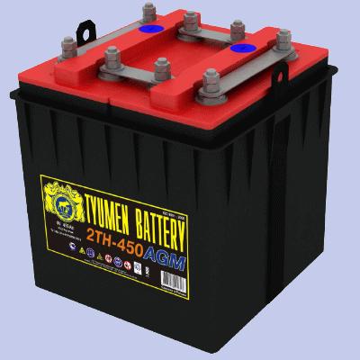 Тепловозная батарея, необслуживаемая тепловозная батарея, 32ТН-450У2 «AGM», купить тепловозную батарею в Санкт-Петербурге, Великом Новгороде, новгородская обоасть